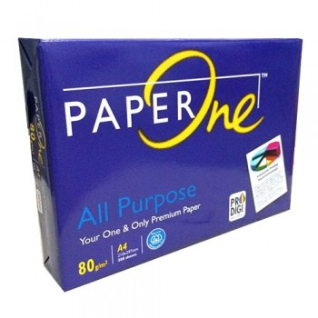 Paperone  A4 Size 500's- 80gsm